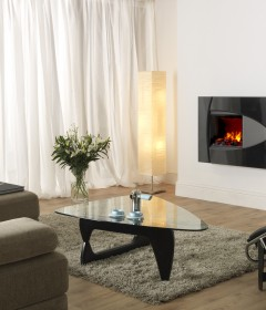 Burbank Wall Mounted Fireplace