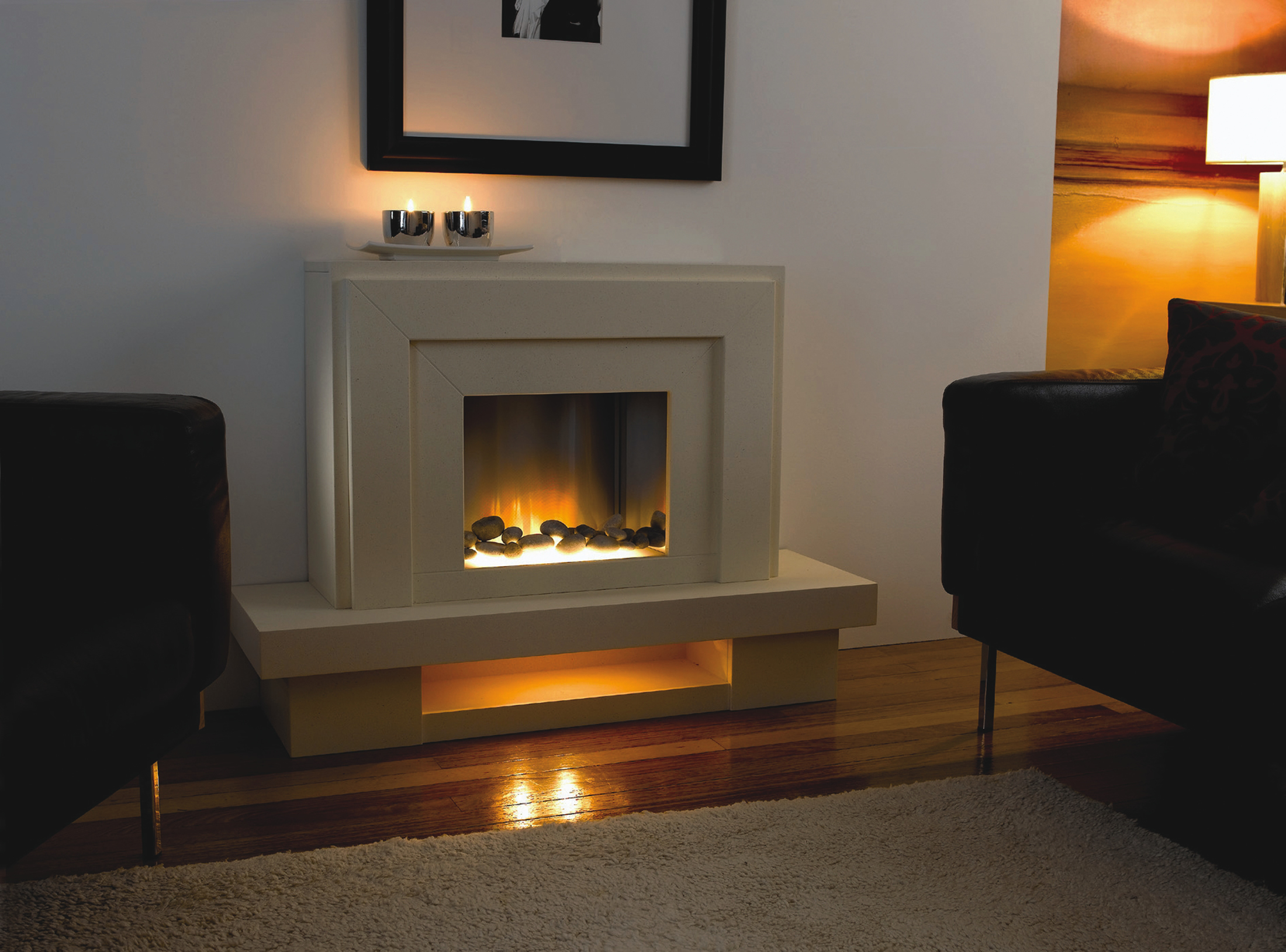 Lazio Flamerite Superior Fireplaces