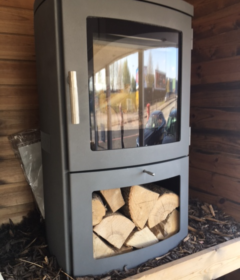 Chesney Milan 4kW Wood Only Stove