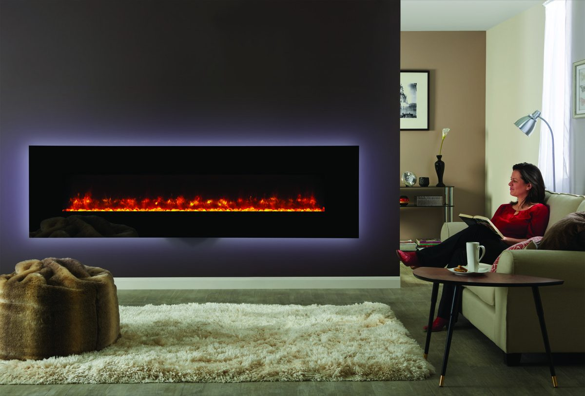 Gazco Radiance wall hung electric fire