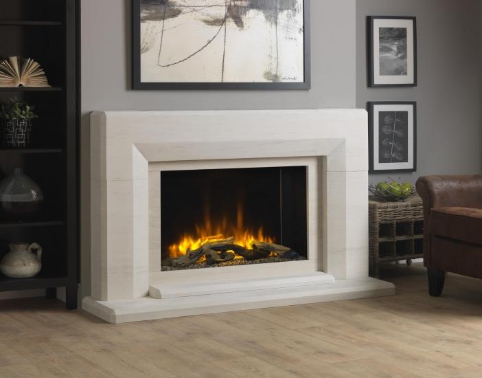 Infinity Edgemond Electric Fireplace Suite