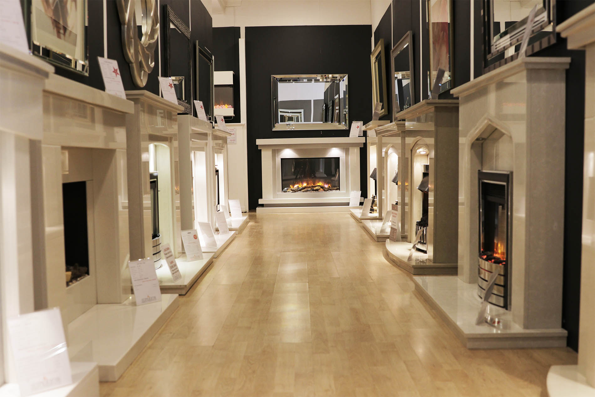 Marble Fireplace Aisle