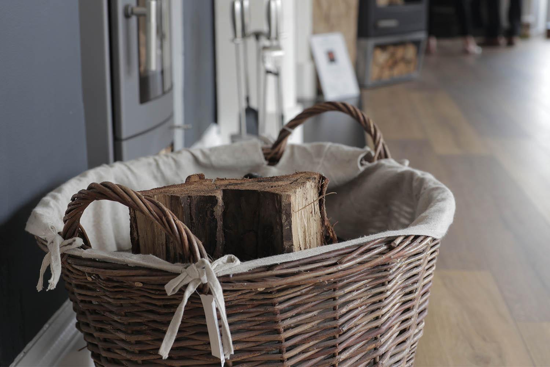 Log Fire Basket